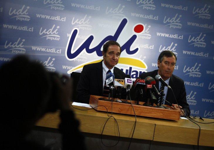 UDI se refiere a alegatos   Francisco Castillo   Agencia UNO