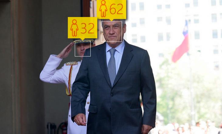 Sebastián Piñera | How Old: 62 años | Edad real: 65 años
