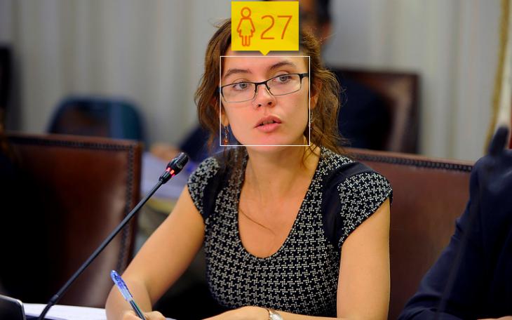 Camila Vallejo | How Old: 27 años | Edad real: 27 años