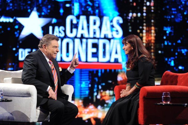 """Don Francisco en """"Las caras de La Moneda"""""""