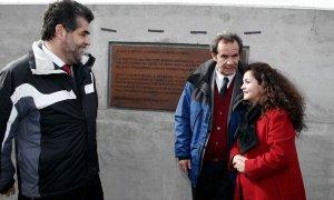 Monares junto a ex ministro Allamand y al ex subsecretario Ubilla
