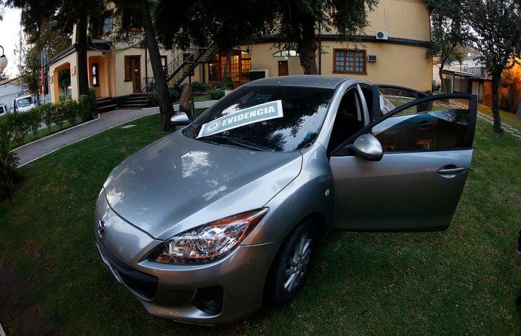 Automóvil incautado al detenido | Mario Dávila | Agencia UNO