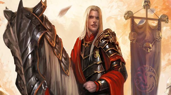 Aegon Targaryen | Ilustración de Diego Gisbert Llorens