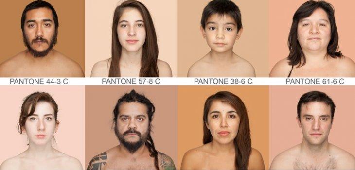 Cual es el Color de piel de los Chilenos?