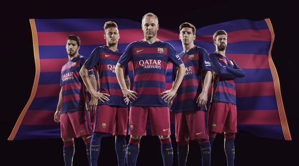 Uniforme titular | @FCBarcelona_es | Twitter oficial Barcelona