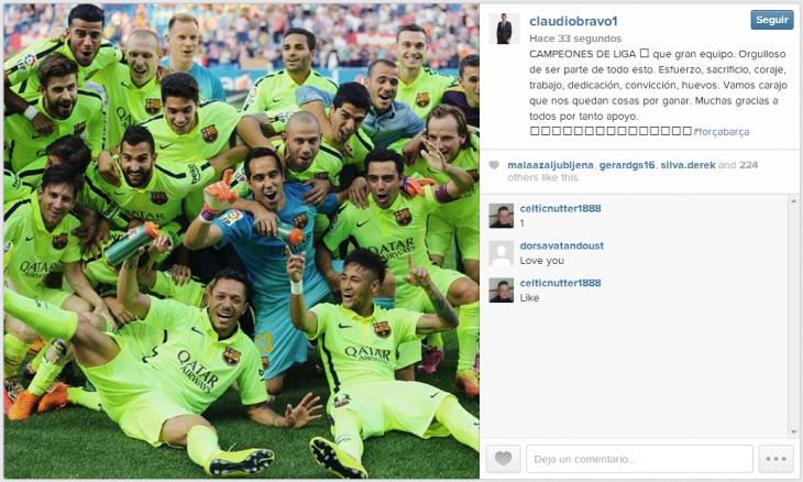 Claudio Bravo | Instagram