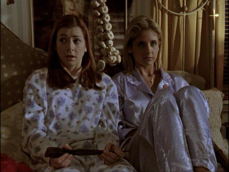 Buffy y Willow | WB