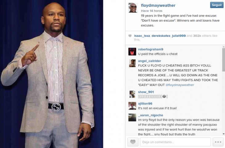 Floyd Mayweather | Instagram