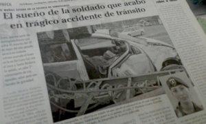 Diario La Tribuna del 16 de agosto de 2006