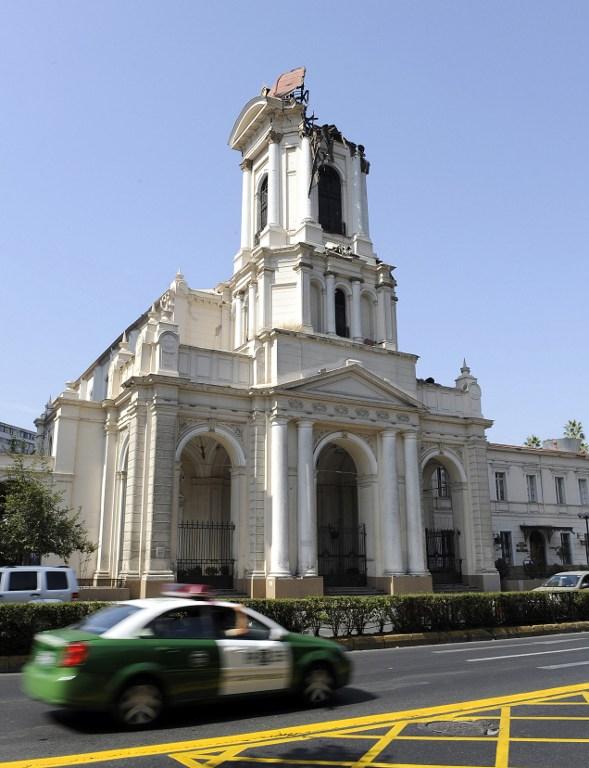 Iglesia de la Divina Providencia   Daniel Caselli   AFP