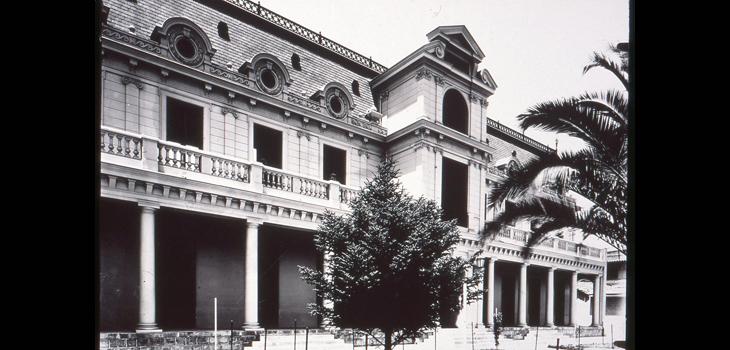 Foto histórica del edificio de V. Mackenna 20