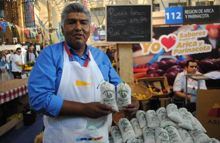 Jaime Santos en Feria Chile a la Carta. Foto: biobiochile.cl