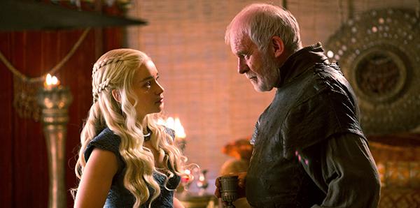 Daenerys y Barristan Selmy | HBO