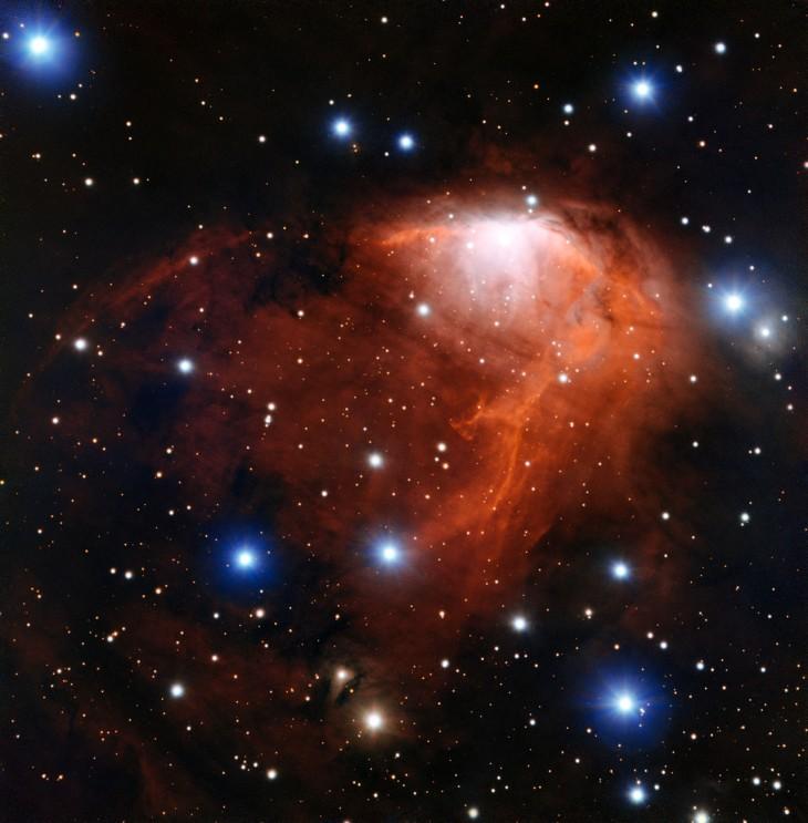 Estrellas formándose en RCW 34