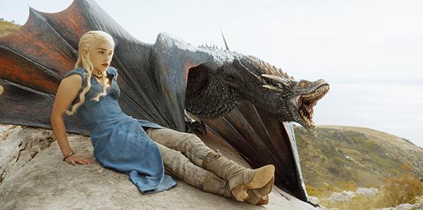 Daenerys Targaryen y Drogon | HBO