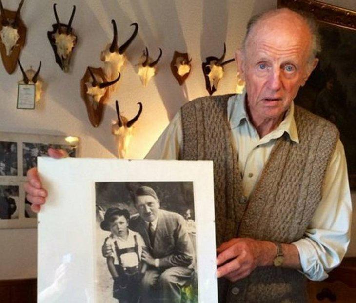 Gerhard Bartels a sus 83 años.