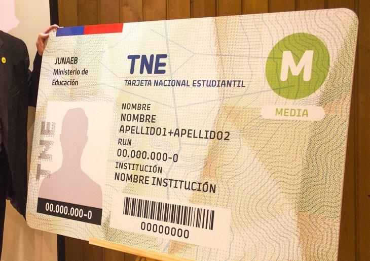 Así luce la nueva TNE | Junaeb