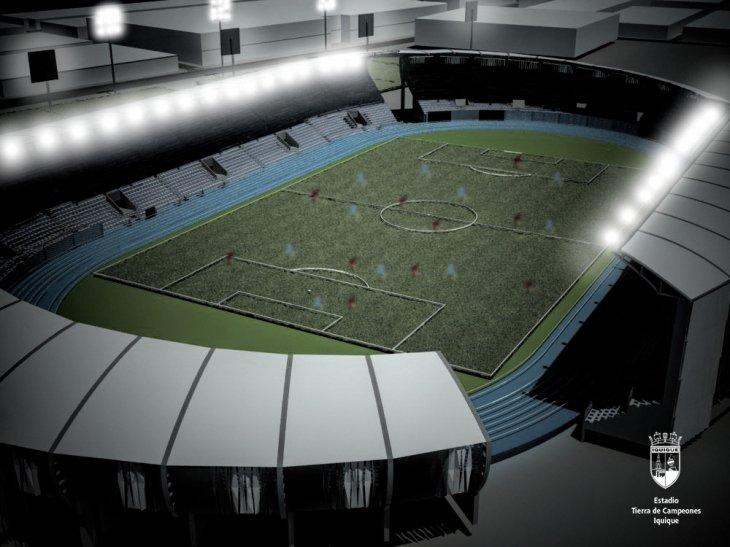 Maqueta renovado Estadio de Campeones   Municipalidad de Iquique