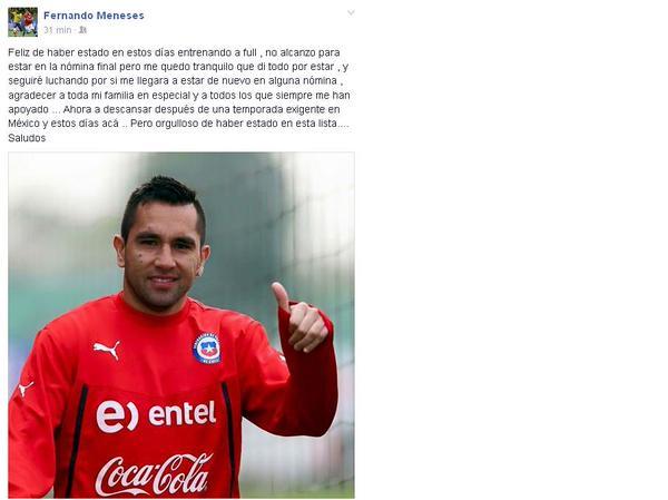 Fernando Meneses | Facebook