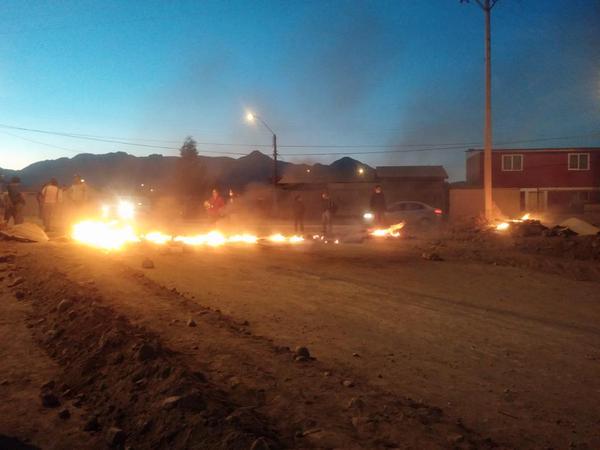 Protesta en Paipote | Esteban Fuenzalida | @estebanfuenza