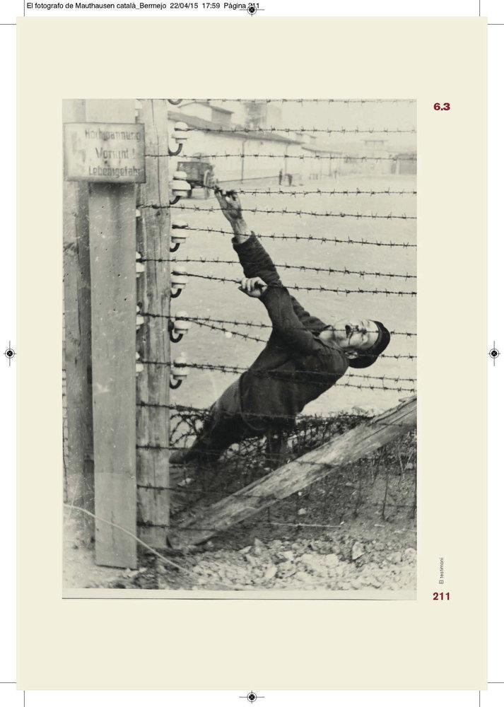 Prisionero muerto en cero eléctrico | Francisco Boix