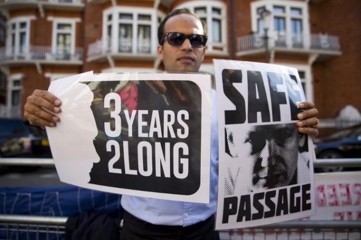 Manifestaciones de apoyo | Justin Talles | AFP