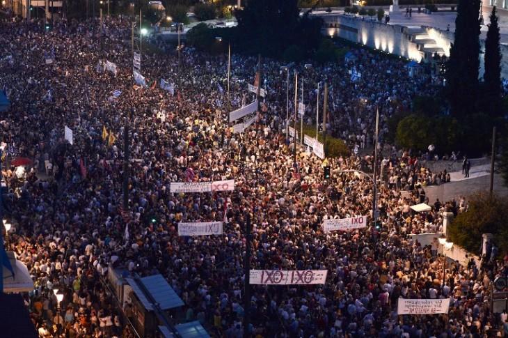 Concentración en Atenas | Louisa Gouliamaki | AFP