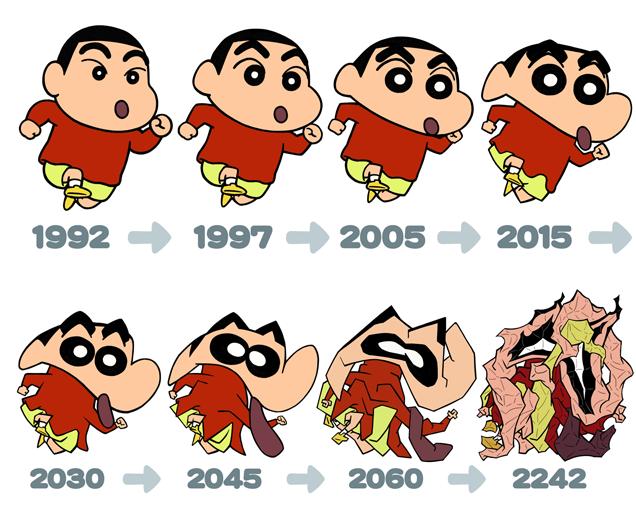 Shinchan Años De Con Que El Cambio Parece Os Los hBrQCxtsdo
