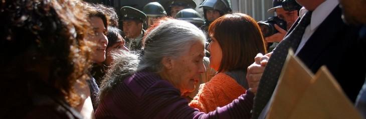 Elisa Toledo (al centro) | Álvaro Cofré | Agencia UNO