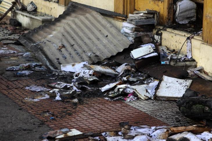 Inician investigaci n por incendio que destruy casa pi era en la serena - Libreria casona aviles ...