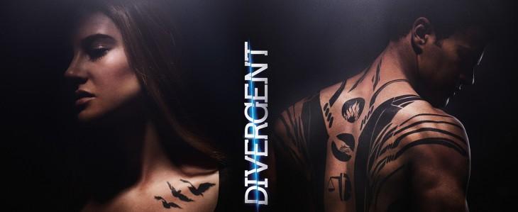 Tris y Four de Divergente | Lionsgate