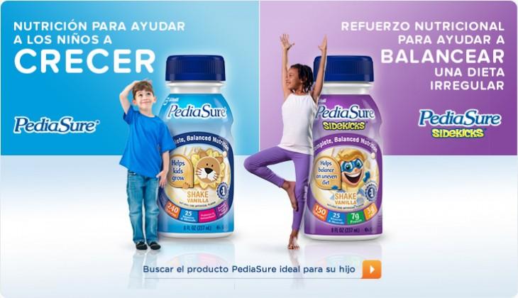 Publicidad Pediasure | es.pediasure.com