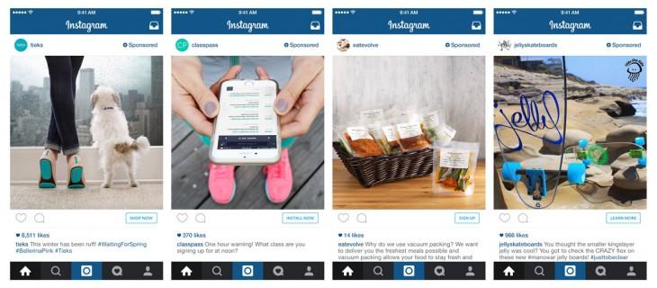 Las posibilidades de campaña en Instagram