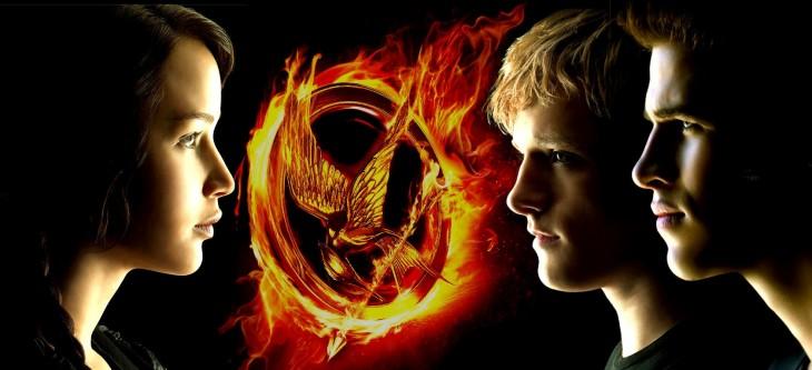 Katniss, Peeta y Gale de Los Juegos del Hambre | Lionsgate
