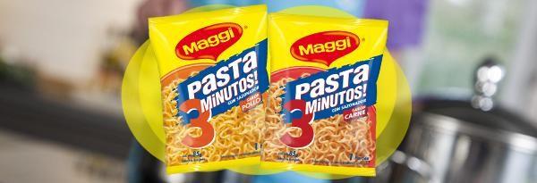 Pasta 3 Minutos | www.maggi.cl