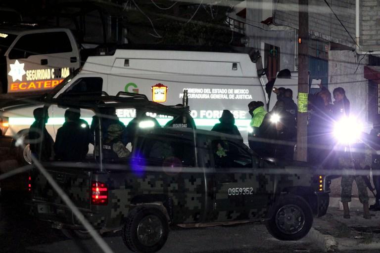 Raptan y decapitan a ocho miembros de una familia en norte de México