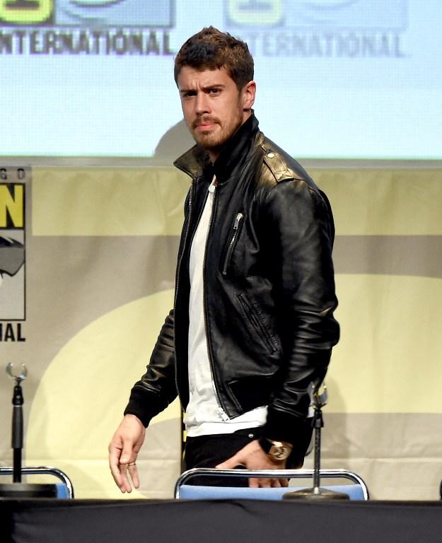 Toby Kebbell en la Comic-Con   AFP
