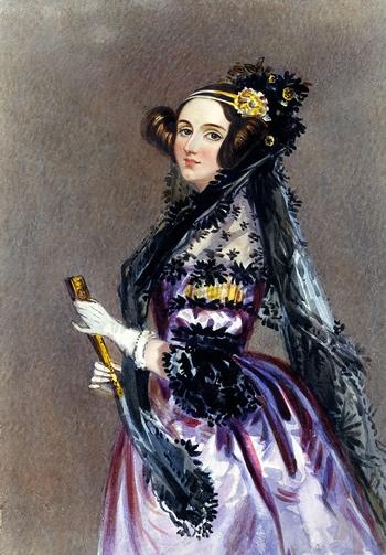 Ada Lovelace con 25 años