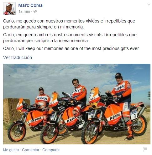 Marc Coma | Facebook