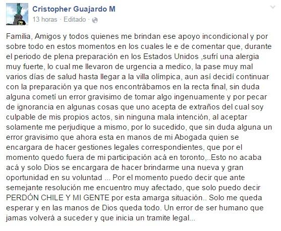 Cristopher Guajardo | Facebook