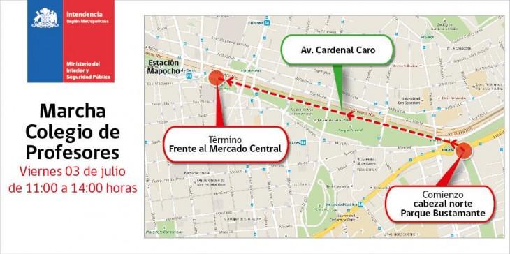 Intendencia Región Metropolitana   @IntendenciaRM