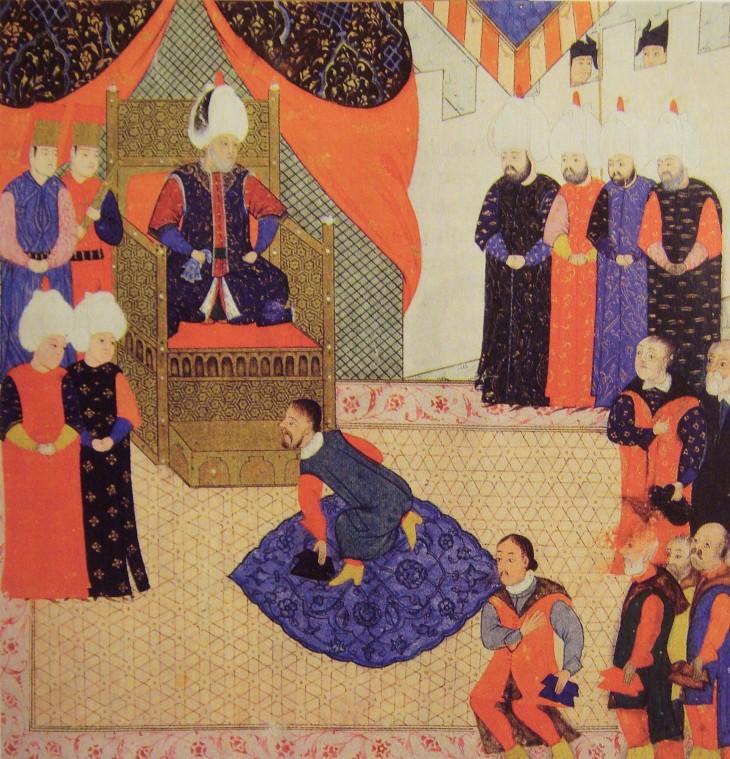 Otro retrato de Suleimán | Les Collections de l'Histoire Les Turcs