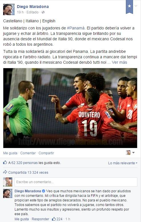 Diego Maradona | Facebook