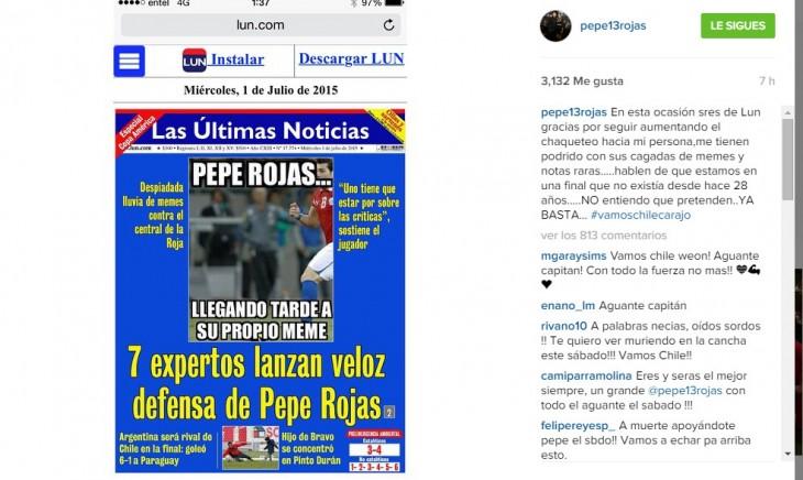 José Rojas | Instagram