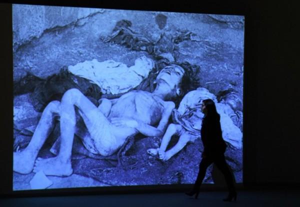 Exposición sobre el genocidio en capital de Armenia | AFP