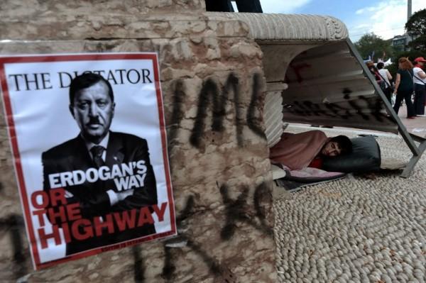 Protesta contra Erdogan en Estambul | AFP