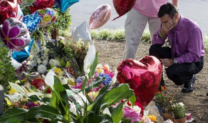 Colegas de las víctimas | AFP