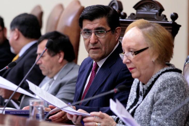 Ministro Carlos Aldana | Victor Salazar | Agencia UNO