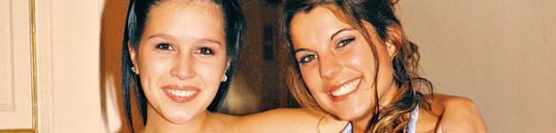 Angélica junto a Maite Orsini | Amor Ciego