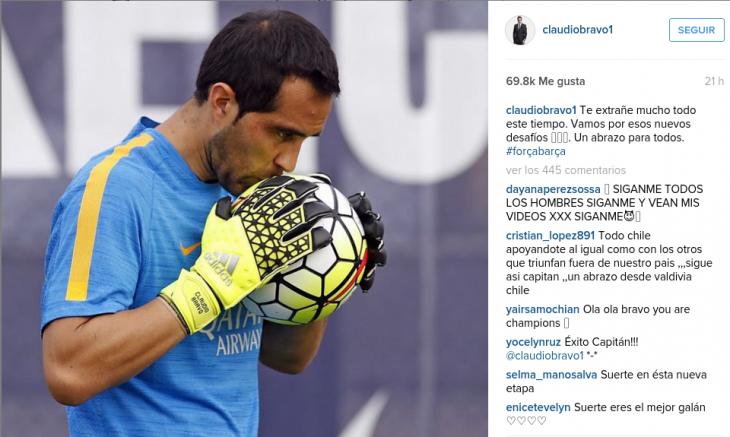 Claudio Bravo I Instagram
